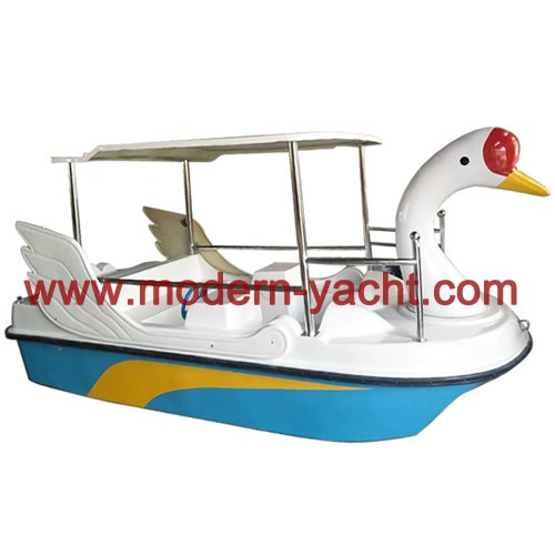 4 seats Swan Electric Boat